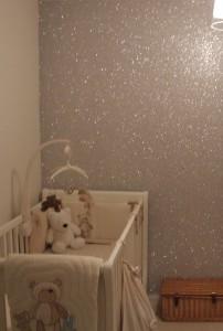 Parede Com Glitter Glitter Walls