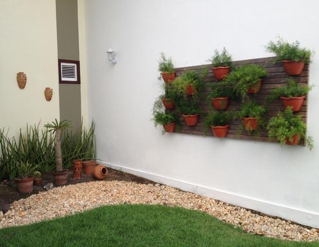 jardim vertical em muro