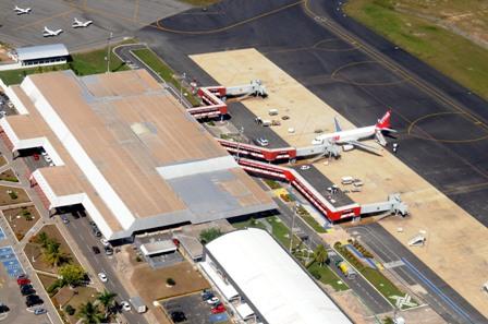 Aeroporto Cunha Machado será ampliado ao custo de R$ 15,2 milhões