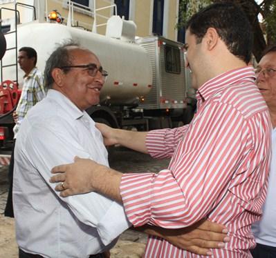 Chaguinhas com Edivaldo: vereador denunciou demissão em massa na Câmara Municipal