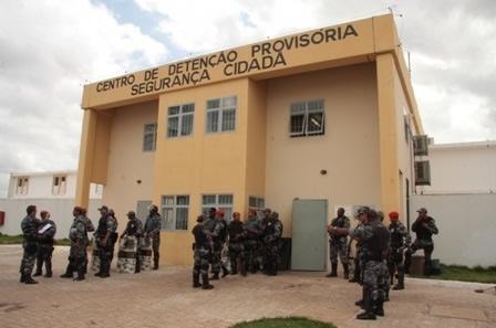 CDP de Pedrinhas, o famoso Cadeião, de onde fugiram quatro presos no fim de semana
