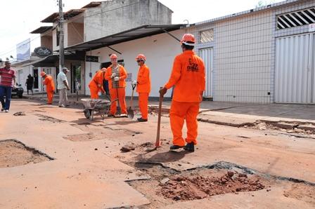 Obras de recuperação asfáltica têm prazo de conclusão de 120 dias