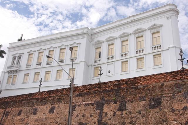 palácio protegido