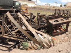 Máquinas apreendida pelo Ibama na Operação Hiléa Pátria