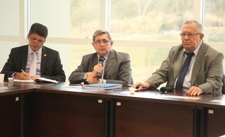 Washington Oliveira durante sabatina na Assembleia Legislativa