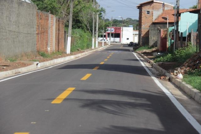 Via do conjunto Maiobão foi totalmente recuperada pela Prefeitura de Paço do Lumiar