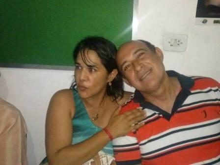 Luana com o marido, Ribamar Alves: barracos e candidatura