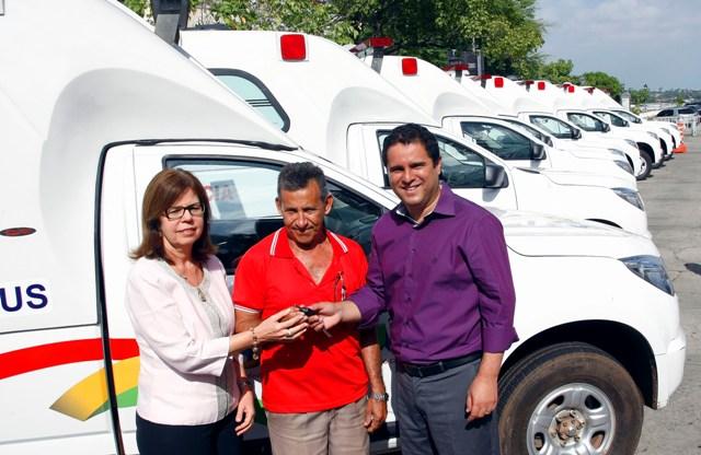 Novos veículos foram adquiridos com recursos do Tesouro Municipal