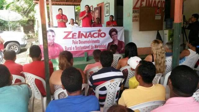 Zé Inácio (PT) agradece o apoio das lideranças de sua cidade natal