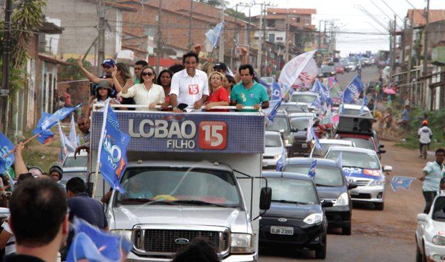 Carreata de Lobão Filho percorreu Cidade Operária e Cidade Olímpica e movimentou os dois bairros (Foto: