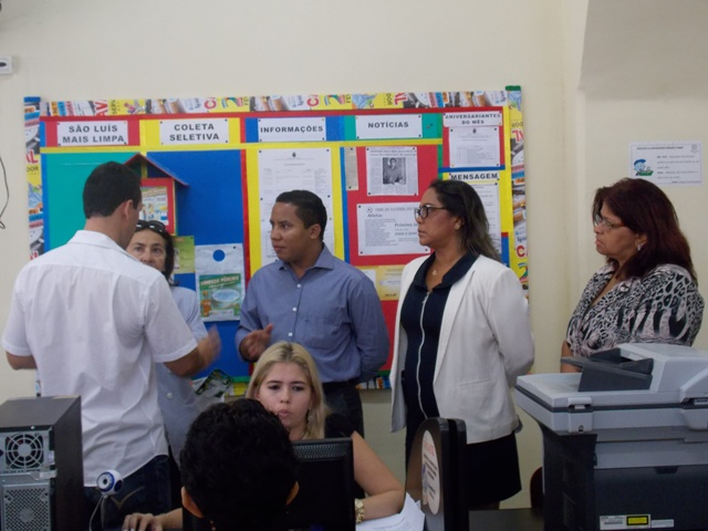 Presidente do Ipam, Raimundo Penha, acompanhou o primeiro dia de trabalhos do Censo Previdenciário nos postos de atendimento