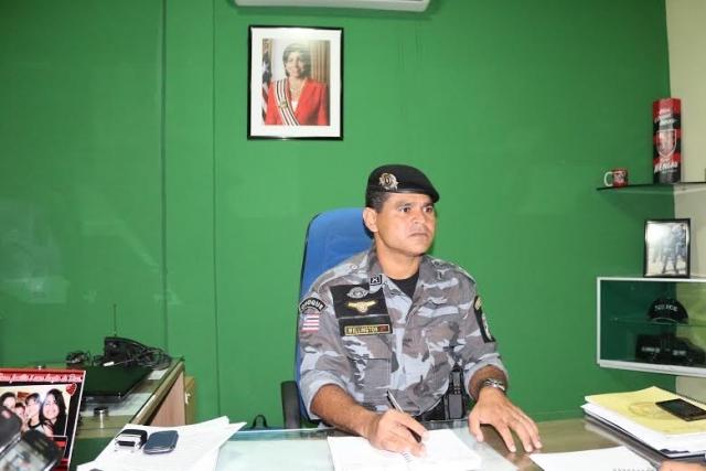 Comandante Francisco Wellington Silva Araújo detalhou as ações realizadas pelo BpChoque