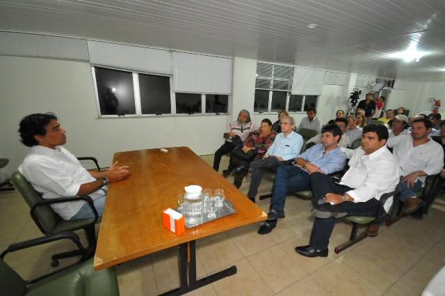 Lobão Filho abriu série de sabatinas promovidas pelo Conselho Regional de Medicina com candidatos ao governo