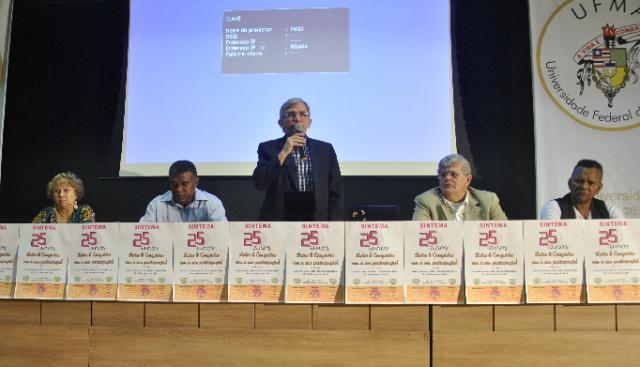 Natalino Salgado destacou a importância da atuação do sindicato na defesa dos interesses do corpo técnico-administrativo da UFMA