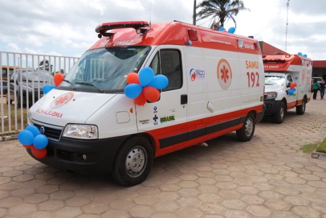 Novas ambulâncias fazem parte do programa de Reposição da Frota do Ministério da Saúde