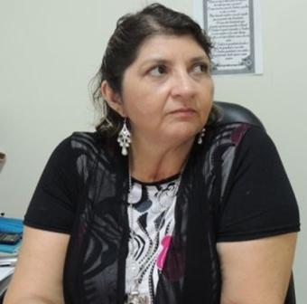 Cláudia Maria da Rocha, presa sob suspeita de desvio
