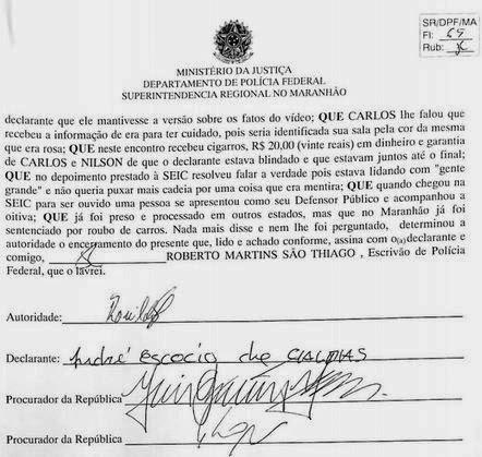 Documentação apresentada por Flávio Dino em programa eleitoral foi forjada, segundo advogados