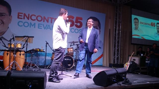 Assessoria de Flávio Dino evita divulgar imagens do público por causa da baixa frequência popular nos atos de campanha do comunista