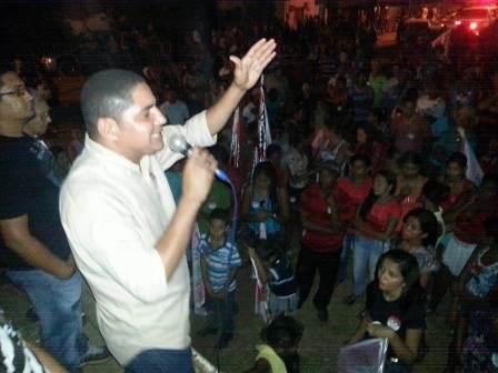 Zé Inácio fez comício em Fortuna e obteve apoio do povo