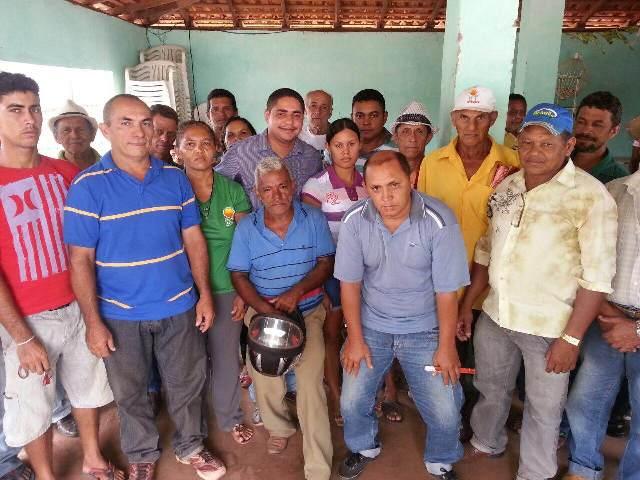 Em Luís Gonzaga, Zé Inácio conta com apoio das principais lideranças comunitárias