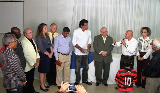Pastor enumera ao candidato ao PMDB assuntos de interesse das igrejas evangélicas