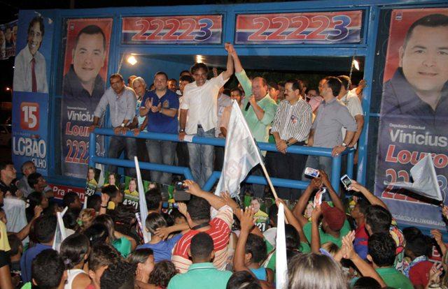 Aliados manifestaram apoio ao projeto de Lobão Filho de goverrnar o Maranhão com discursos entusiasmados
