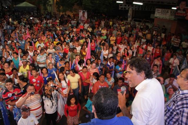 Lobão Filho foi recebido com festa em Pedreiras, onde reforçou mais uma vez seu compromisso com o desenvolvimento do Maranhão