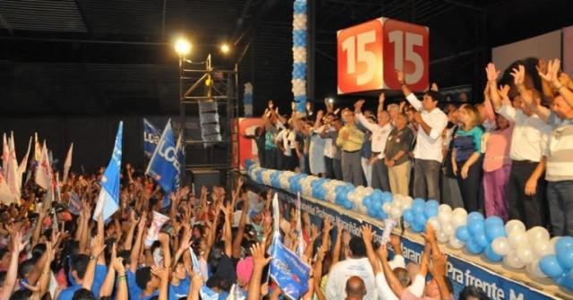 Encontro reforçou o compromisso de dezenas prefeitos, deputados, ex-prefeitos, vereadores e lideranças de todo o Maranhão que querem, em janeiro de 2015, Lobão Filho no Palácio dos Leões