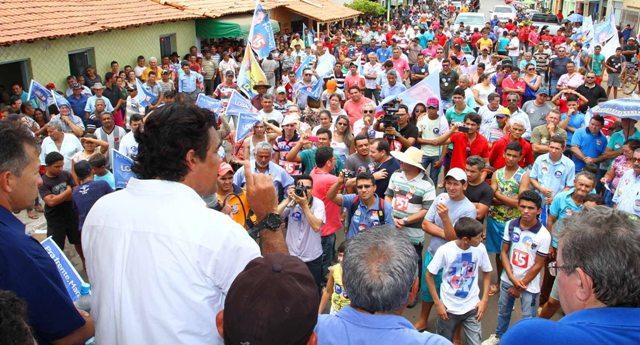 """Candidato da coligação """"Pra Frente, Maranhão""""  assegurou a construção de uma Refinaria e de estradas na região"""