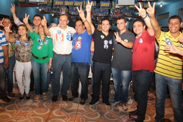 O líder do executivo municipal de Paço do Lumiar apoia Lobão Filho, Gastão Vieira, Davi Junior e Glalberth Cutrim