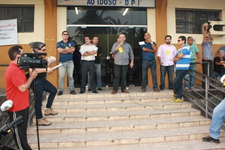 Policiais reivindicam Gratificação de Dedicação Exclusiva e melhoria da estrutura de delegacias