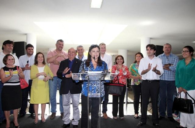 Roseana se disse emocionada por reabrir portas do PAM Diamante à população