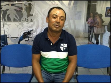 Marcos Catita foi preso e autuado em flagrante por tráfico