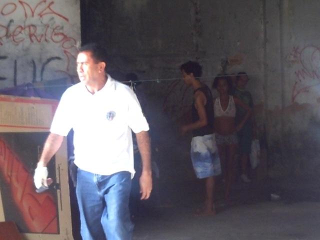 Delegado Joviano Furtado apreendeu faca que estava em pode de usuários de drogas