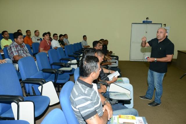 Curso de agentes de trânsito promovido pelo Detran do Maranhão