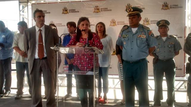 Roseana Sarney afirmou que as USCs contribuem para a redução da criminalidade