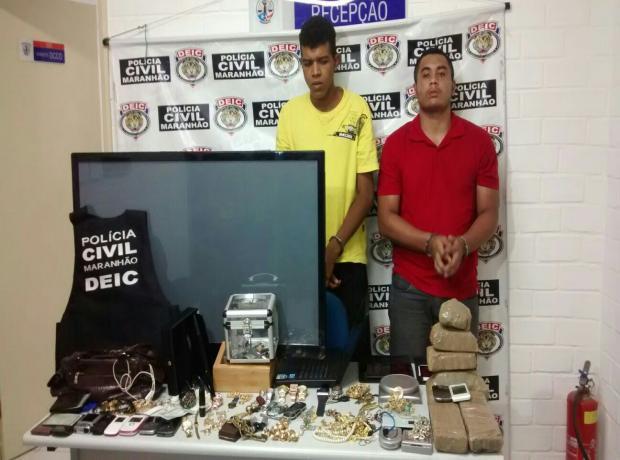 Jhonantan Frank foi apresentado em julho pela Seic com o produto do roubo