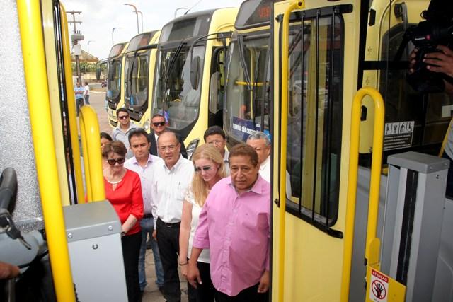 Novos ônibus foram comprados e beneficiarão usuários da Cidade Operária, Uema, Distrito Industrial e São Raimundo