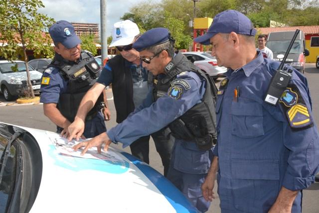 Operação foi realizada na região do Centro, Anel Viário e Itaqui-Bacanga