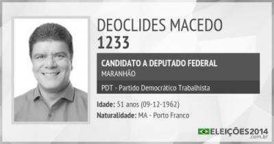 Deoclides Macedo teve os votos validados pelo TSE