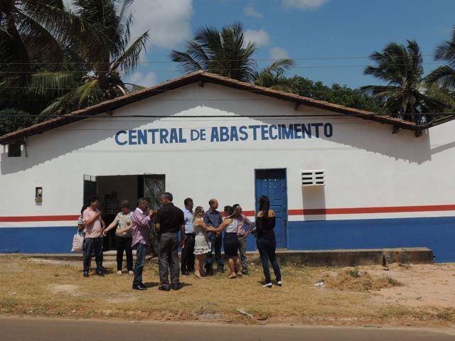 Equipe vistoriou novas instalações da Central de Abastecimento de Paço do Lumiar