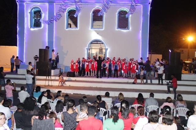 Cantata foi uma das atrações da programação de Natal em Paço do Lumiar ano passado