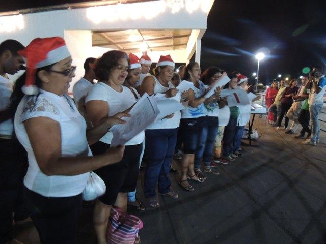 Cantata foi uma das atrações da abertura da programação de Natal em Paço do Lumiar
