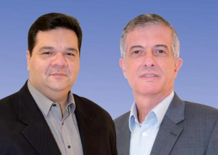 Reitor Gustavo Costa e vice Walter Canales