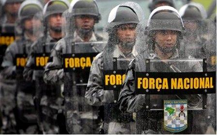 A Força Nacional está no Maranhão a pedido do governo há 14 meses