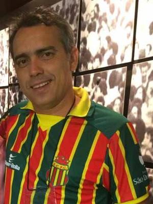 Torcedor do Sampaio, Márcio Jardim fez gol contra o próprio time do coração