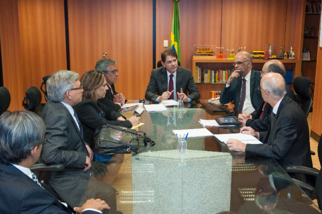 Reitor Natalino Salgado destacou que diálogo com Ministério da Educação fortalece a educação no país