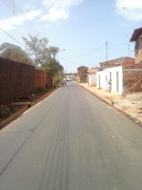 A Rua 143, mais conhecida como Rua do Caic recebeu, neste final de semana, os serviços do cronograma de obras de infraestrutura viária