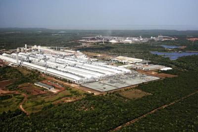 Fábrica da Alumar, no Distrito Industrial de São Luís