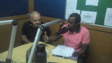 Radialista Rogério Silva, da São Luís AM, foi um dos convidados do programa